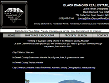 Tablet Preview of blackdiamondrealestate.org
